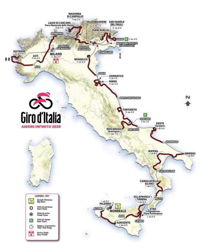 Giro DItalia 2021 Ergebnisse
