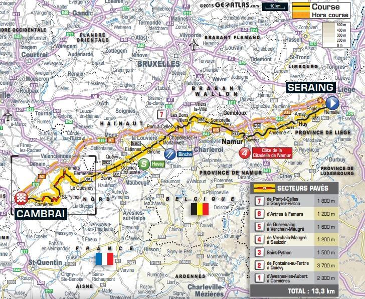 1 etappe tour de france 2019