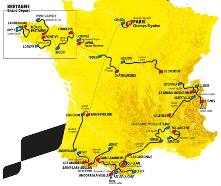Tour The France 2021