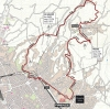 World Championships 2013: The route around Florence, with the Fiesole